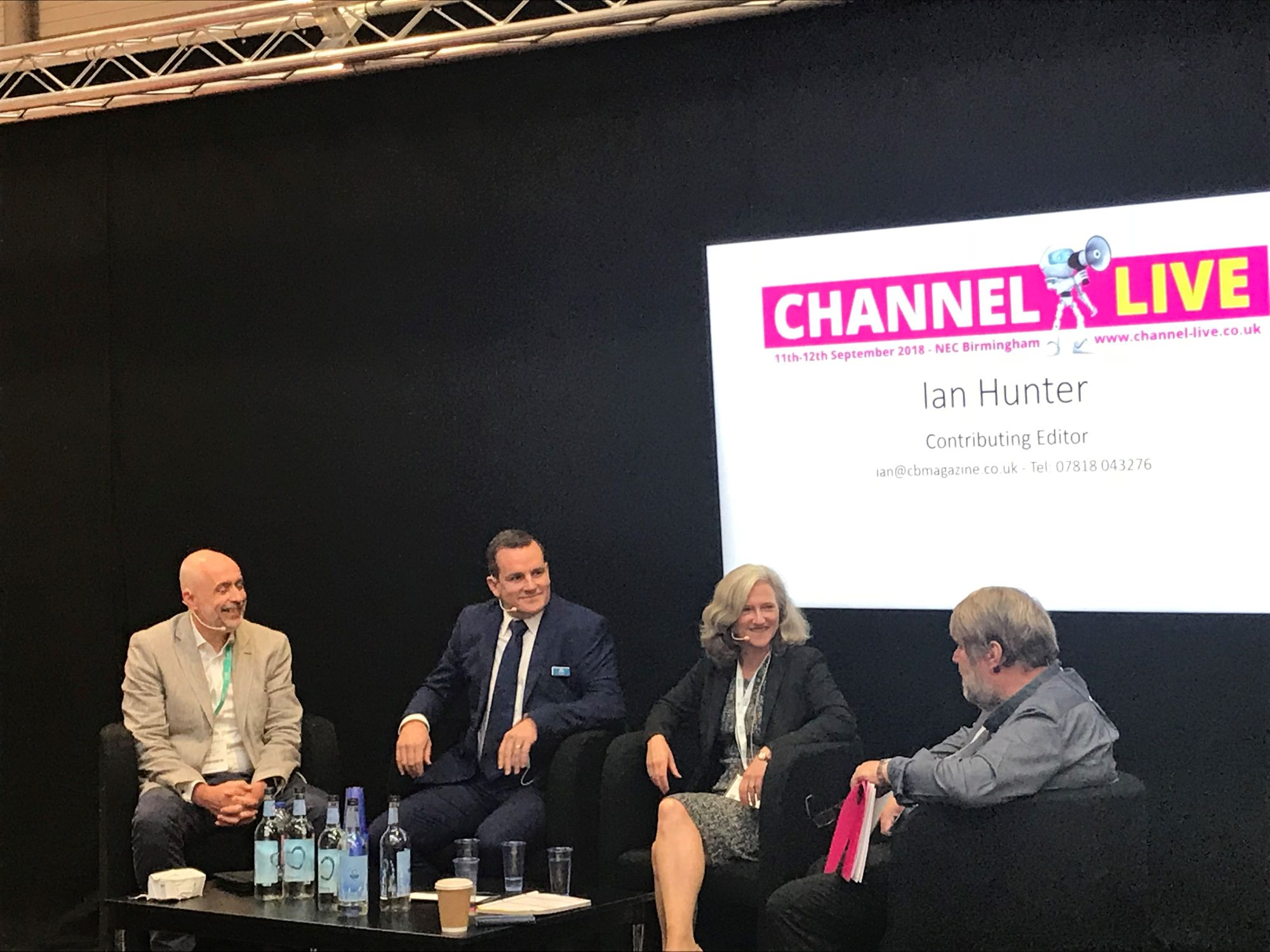 Channel Live panel - sales process
