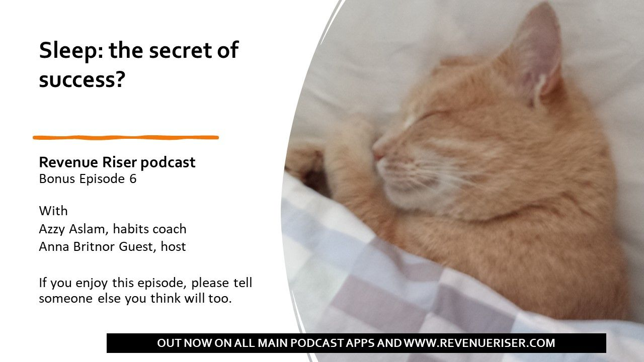 Sleep: the secret of success