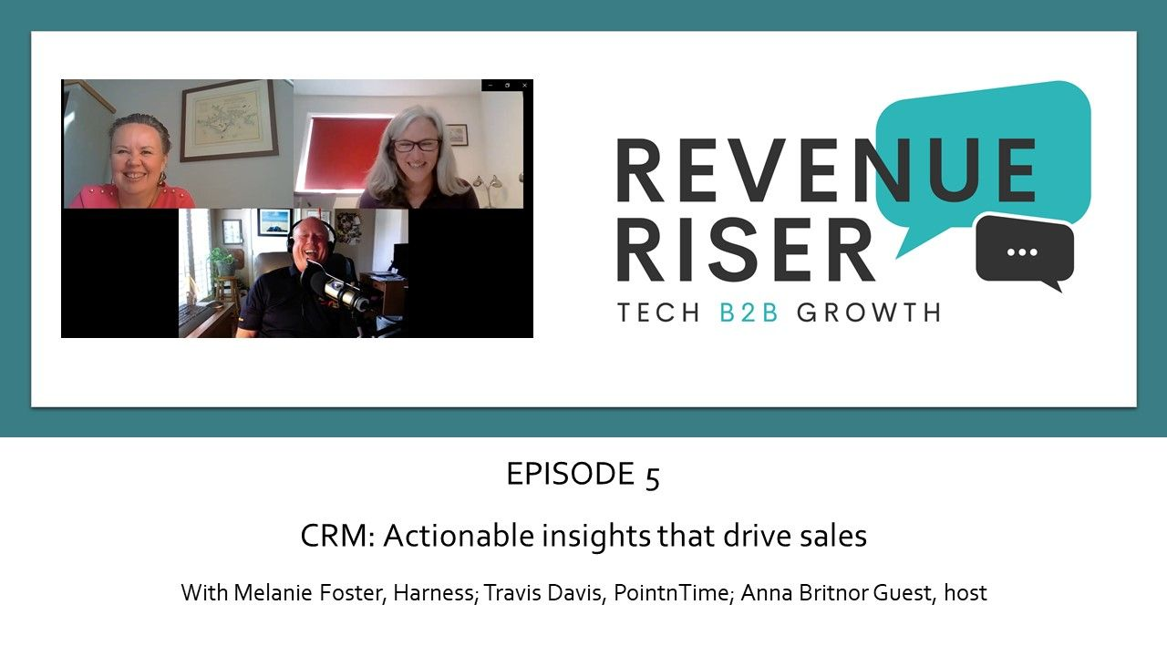 CRM: actionable insight that drives sales