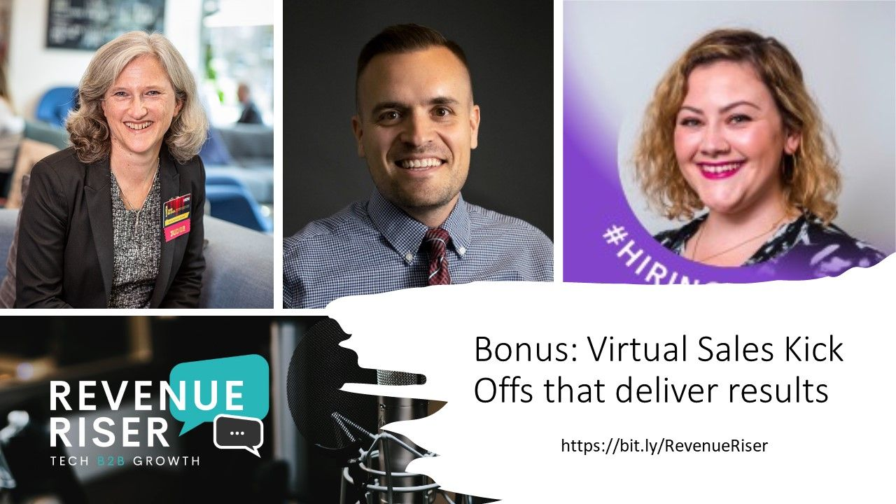 Virtual Sales Kick Offs that deliver results