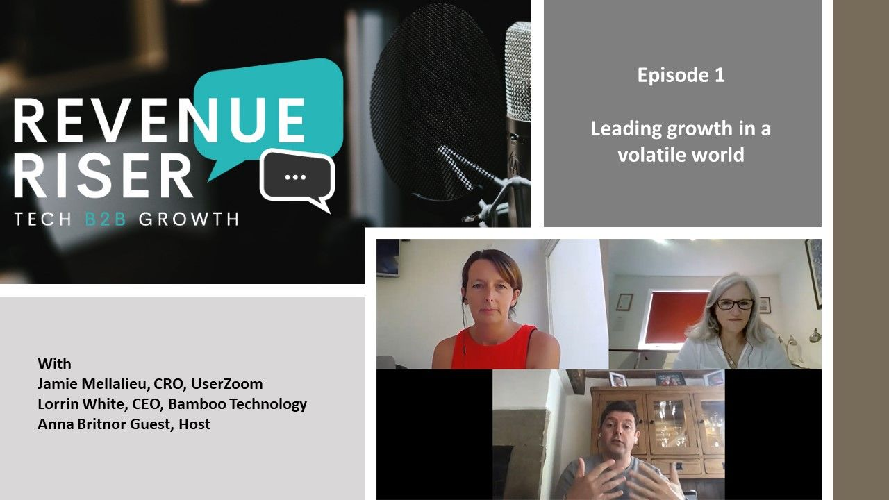 Podcast Leading growth in a volatile world