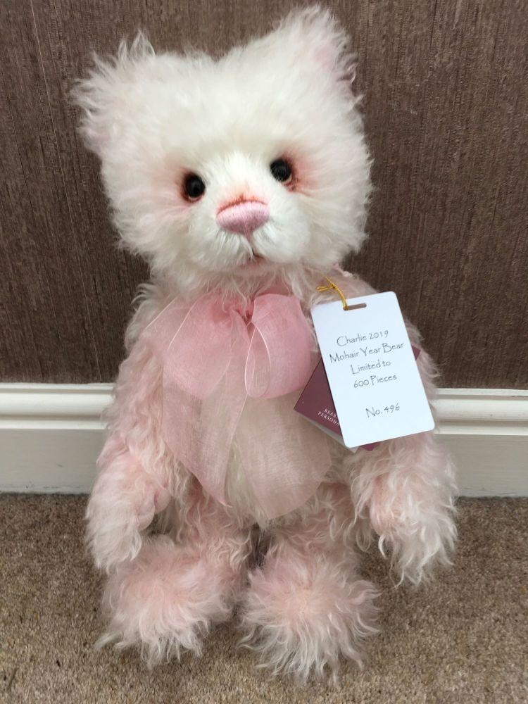 Charlie Bears 2019 Mohair Year Bear