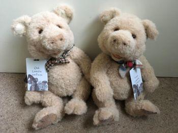 Charlie Bears Oink & Trotter