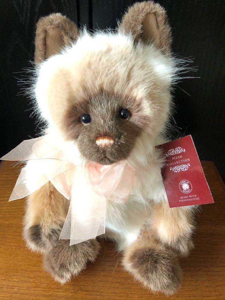 Charlie Bears Precious The Cat