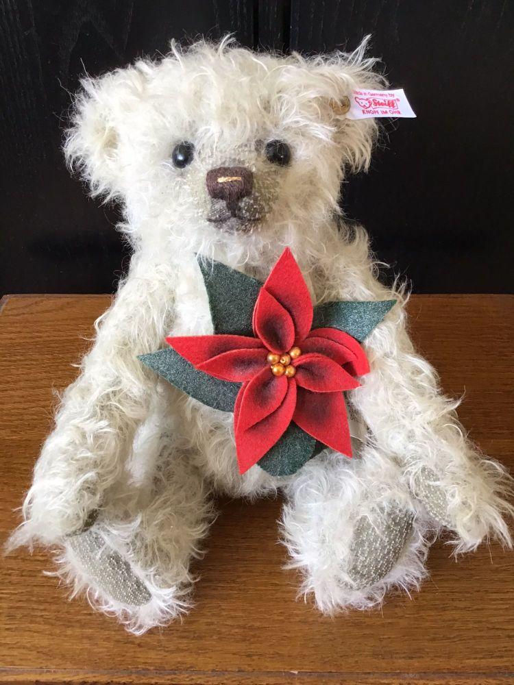 Steiff Poinsettia Teddy Bear
