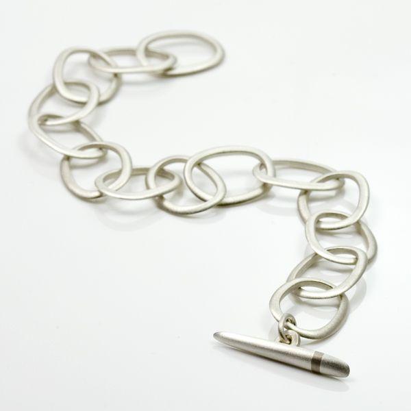 Lode Silver Chain Link Bracelet
