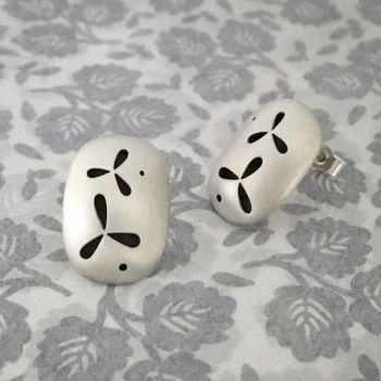 Pierced Silver Small Earrings *SALE*