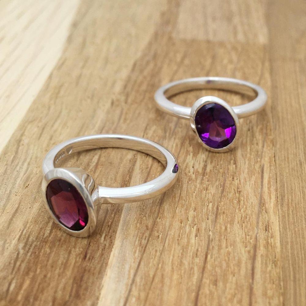 Large Oval Stone-set Ring *SALE*