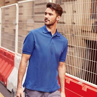 Russell Unisex Hard-wearing 60°C wash polo  (Logo on Left Chest)