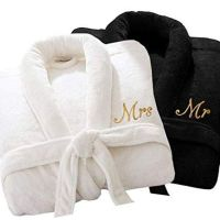His & Hers / Mr & Mrs Luxury bathrobe set