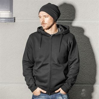 Heavyweight  Hoody / Zip front, with logo  on left chest