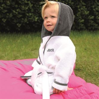 Personalised Infants  Bathrobe