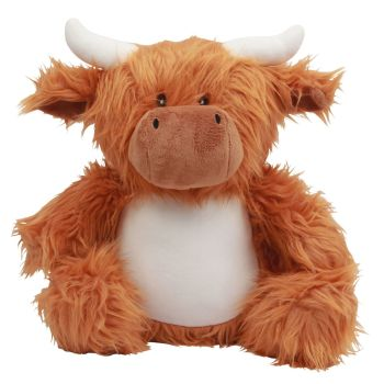 """Personalised """"Angus"""" Highland Cow"""