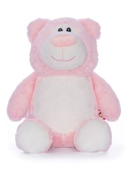 "Personalised ""Cubbyford""  Bear (pink)"