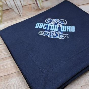 """""""Dr Who"""" Blanket  (Various Colours Available)"""