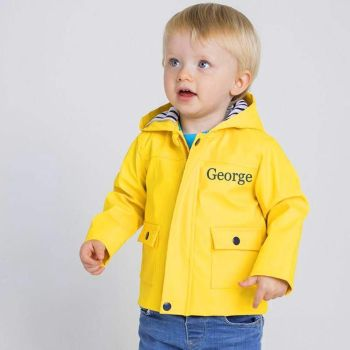 Personalised Traditional Toddler's Raincoat  (available in 3 colors)