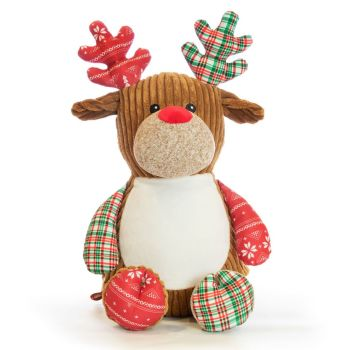 "** New **  Harlequin ""Christmas"" Reindeer"