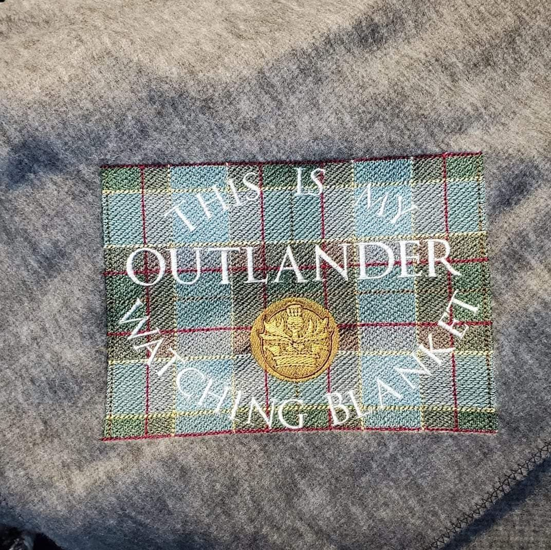 """""""Outlander"""" Blanket  (Various Colours Available)"""