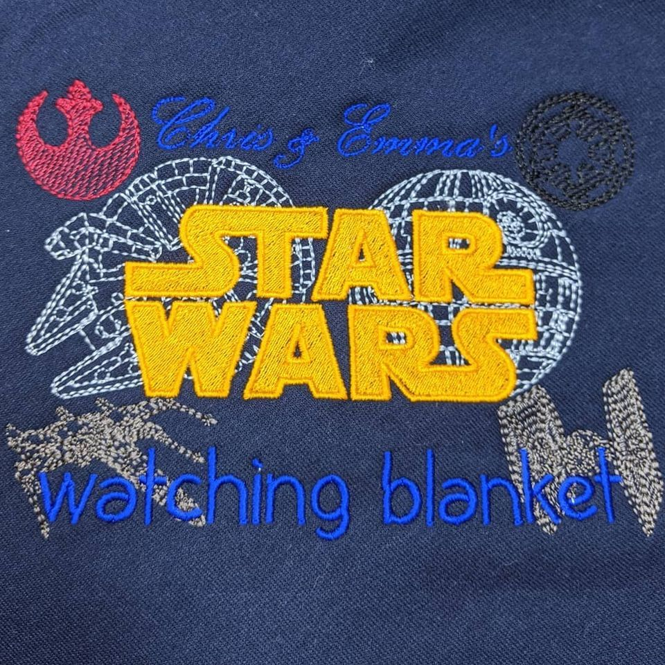 """""""Star Wars"""" Blanket  (Various Colours Available)"""