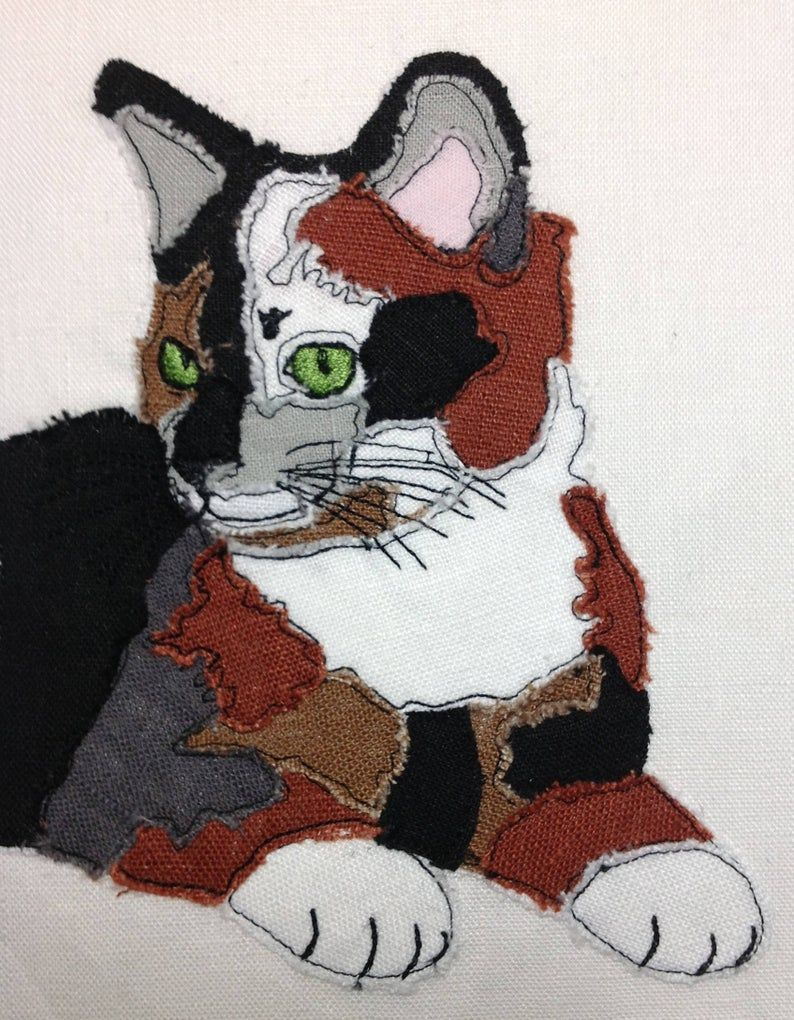 Calico Cat Design