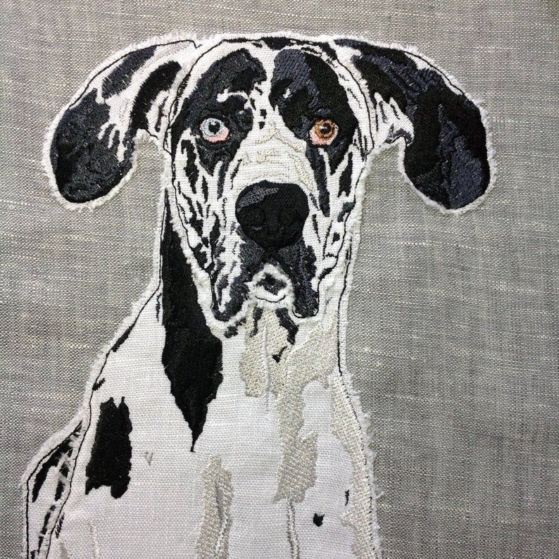 Harlequin Great Dane Design