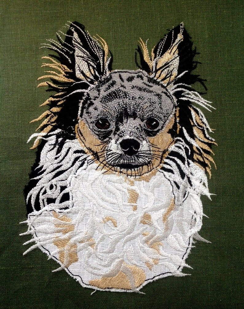 Long Haired Chihuahua Design