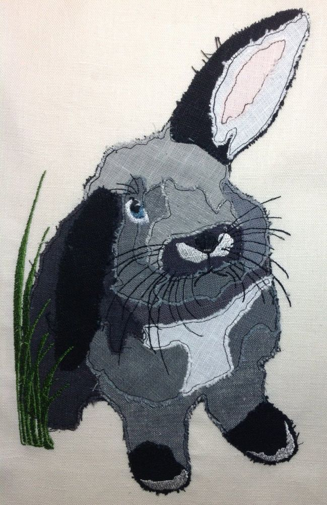 RABBIT - applique  Design