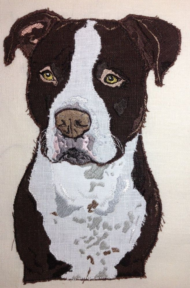 STAFFY - Staffordshire Bull Terrier Design