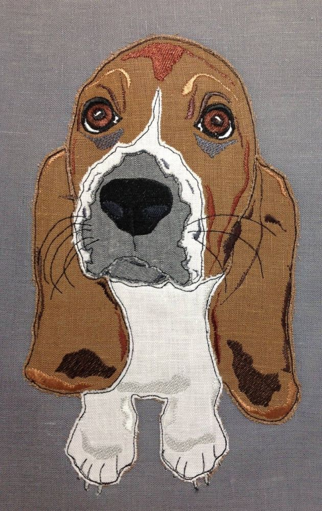 Basset Hound Puppy Design