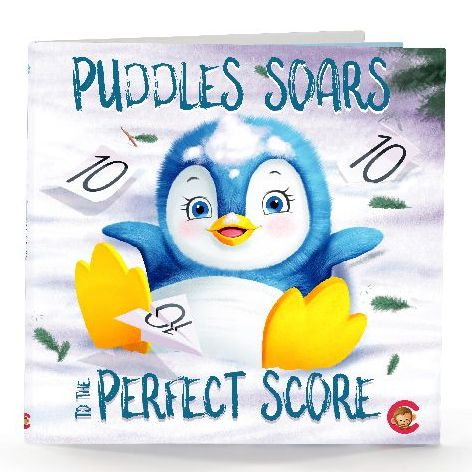 Puddles Soares to the perfect score – A storybook by Cubbies