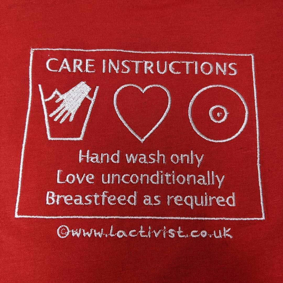 Care Instructions T-Shirt