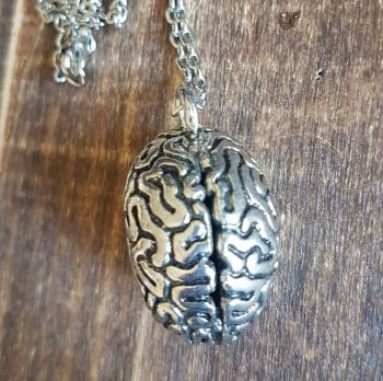 Brain Anatomical Necklace