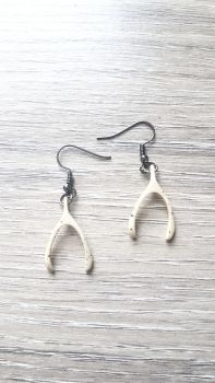 Wish Bones Earrings