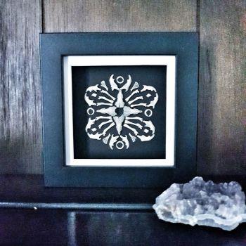 Owl Pellet Bone Art - Macabre III