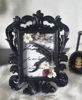 Crow Claw In Ornate Frame