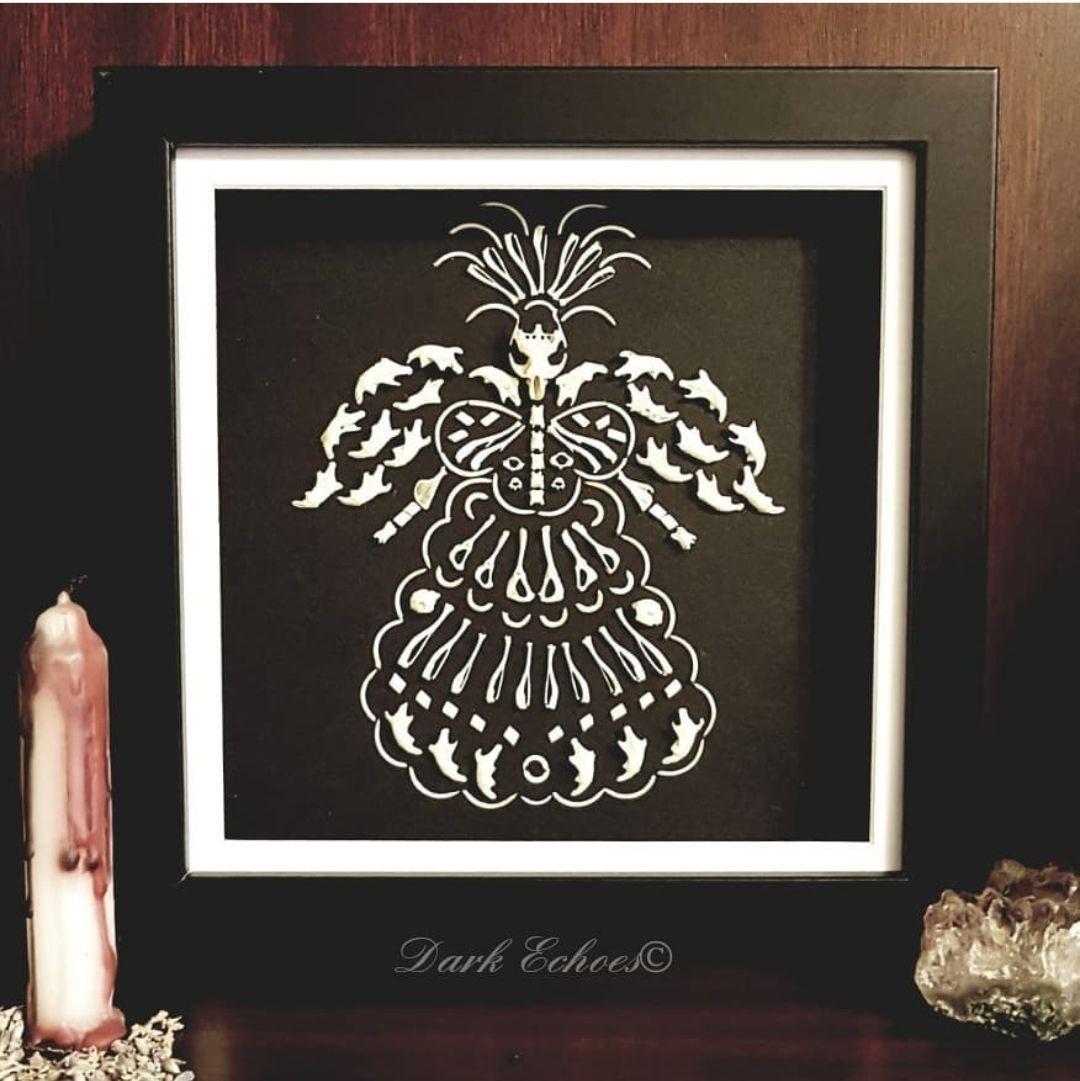 Owl pellet bone witch