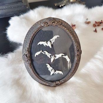 Bronze Bone Bat Frame
