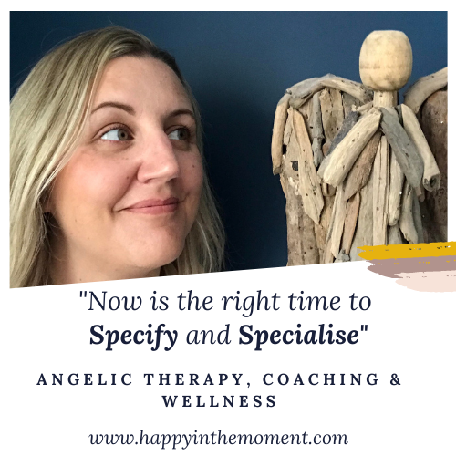 Now is the right time to Specify and Specialise