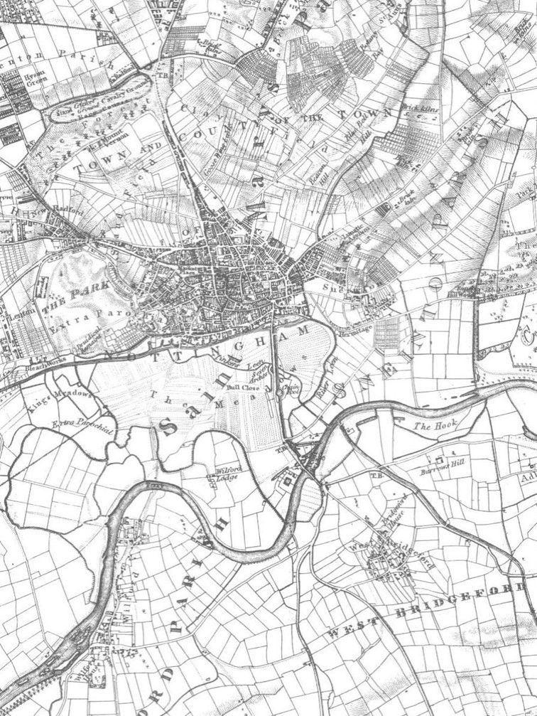 Map of Lady Bay 1835