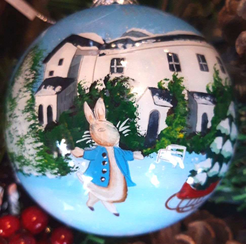 The Lake District Glass Bauble