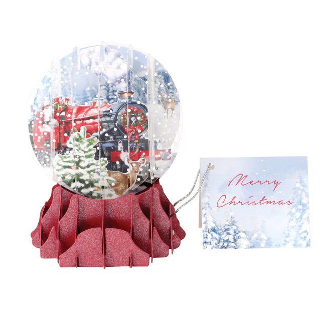 Snow Globe Cards