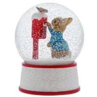 Peter Rabbit's Letter to Santa Snowglobe