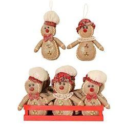Small Gingerbread man hanger