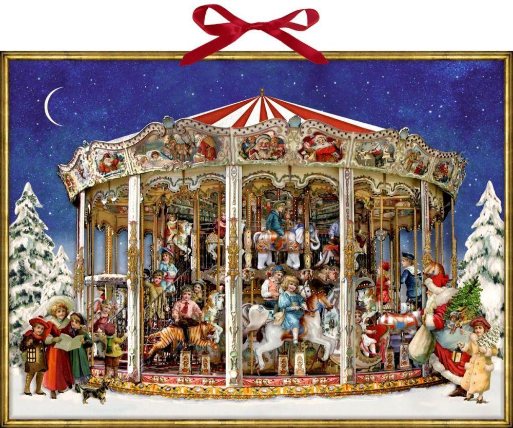 Christmas Carousel Advent Calendar