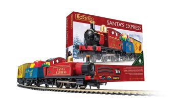 Hornby Santa Express Train Set