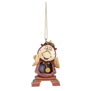 Beauty and The Beast's - Cogsworth Hanging Ornament