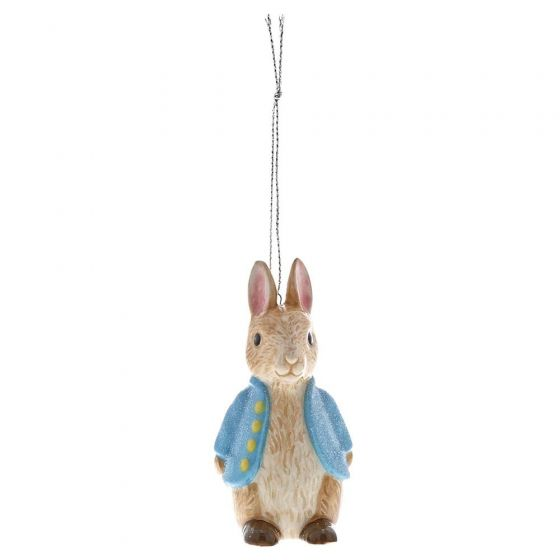 Peter Rabbit Ceramic Hanging Ornament