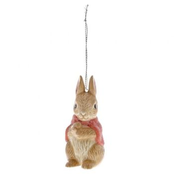 Flopsy Rabbit Ceramic Hanging Ornament