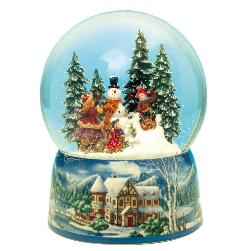 Snowman Water Globe