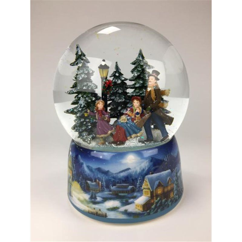 Snowglobe Sledge & Skaters